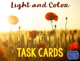 Light and Color Task Cards {Scoot}