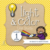 Light and Color Unit Study with Mini-Book (PreK-K)