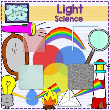 Light and Colors Science Clip Art