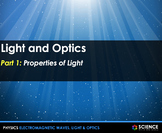 PPT - Light, Optics, the Eye and Vision + Student Notes -
