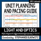 Light and Optics Unit Planning Guide