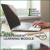 Light and Rainbows - Free Sample from the March Independent Learning Module ILM