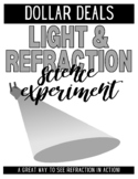 Science: Light and Refraction Experiment