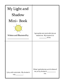 light and shadow freebie by catherine wood teachers pay teachers. Black Bedroom Furniture Sets. Home Design Ideas