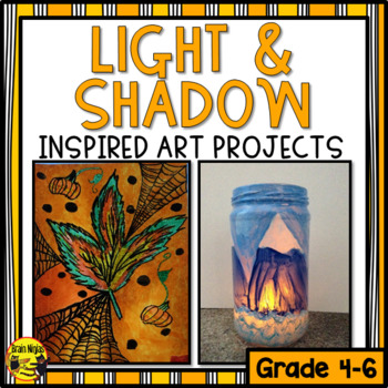 Light and Shadow Inspired Art Projects