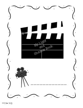 Light and Shadow Printables and Activities with QR Scan Code Activity