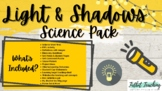 Light and Shadow Science Unit Packet Grade Four Alberta