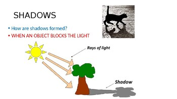 Light and Shadows PPT