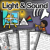 Light and Sound: A First Grade NGSS Science Unit (works with distance learning)