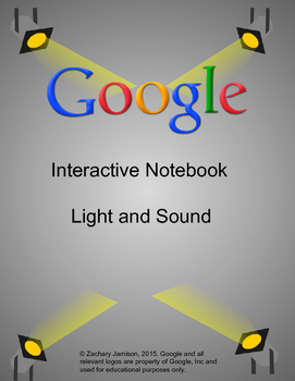 Light and Sound: Google Apps Interactive Notebook