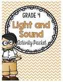 {Grade 4} Light and Sound Activity Packet
