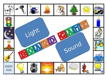 Light and Sound Board Game