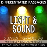 Light and Sound Energy: Passages - Distance Learning Compatible