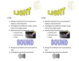 Light and Sound I Can Learning Targets
