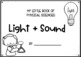 Light and Sound Mini Book and Worksheets