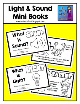 Light and Sound Mini Books