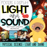 Light and Sound | Physical Science Posters and Display