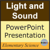 Light and Sound PowerPoint NGSS 4-PS3-2 4-PS4-2