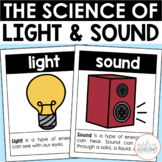 Light and Sound Science Lessons for First Grade (NGSS Aligned)
