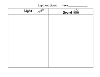 Light and Sound Sort