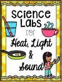 Heat, Light, and Sound Stations- Energy Science Labs