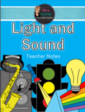 Light and Sound Unit (6 Fun, Engaging & Hands-On Lessons)