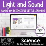 Light and Sound Unit, Google Classroom, Distance Learning