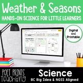 Weather and Seasons, Google Classroom, Distance Learning