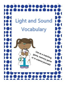 Light and Sound Vocabulary
