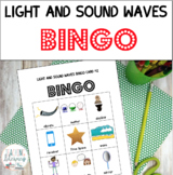 Light and Sound Waves BINGO - Next Generation Science Standards - Grade 1
