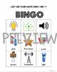 Light and Sound Waves Bingo 1st Grade