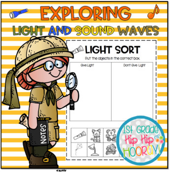Exploring Light and Sound Waves...NGSS 1st Grade