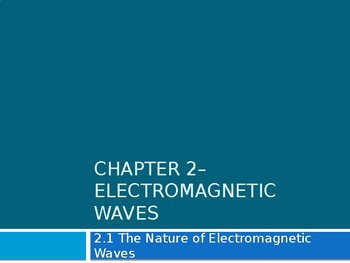 Light and the Electromagnetic Spectrum notes