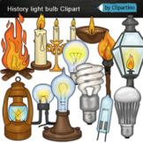 Light bulb clipart-History Light