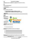 Light science investigations (2 lessons) Lesson plans, Prompts & Writing frames