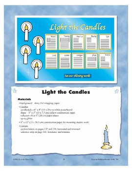 Light the Candles (Bulletin Boards)