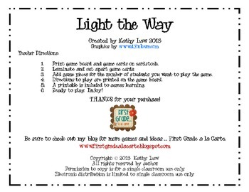 Light the Way - A Science Game