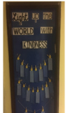 Light up the World with Kindness Menorah Writing & Bulletin Board Set