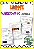 Light - worksheets