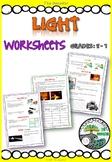 Light - worksheets