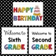 Lightbox, Back to School, Happy Birthday Freebie for your