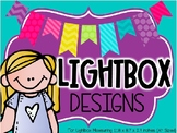 Light Box Inserts - 40 Designs For The Entire Year!