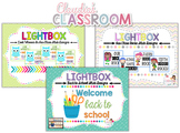 Lightbox Designs - Back to School Bundle