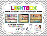 Lightbox Designs - Calendar Set