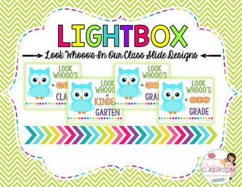Lightbox Designs - Look Whooo's In Our Class