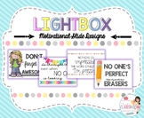 Lightbox Designs - Motivational Quotes Set