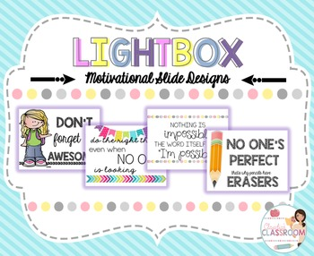 Lightbox Designs - Motivational Quotes Set