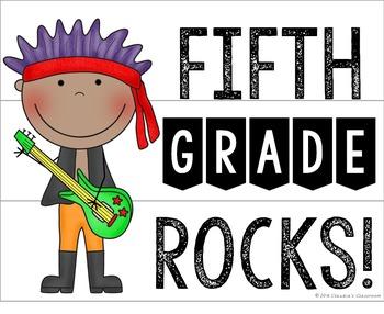 Lightbox Designs - Our Class Rocks