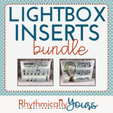 Lightbox Inserts - BUNDLE