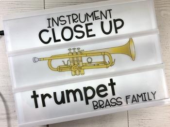 Lightbox Inserts - Instrument Close Ups